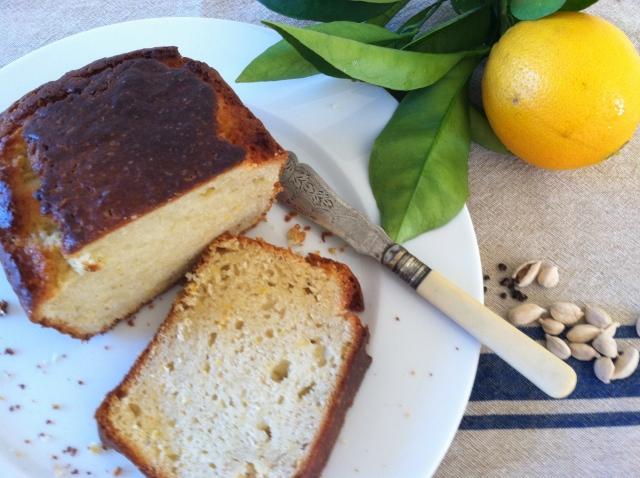 Cardamom and orange cake