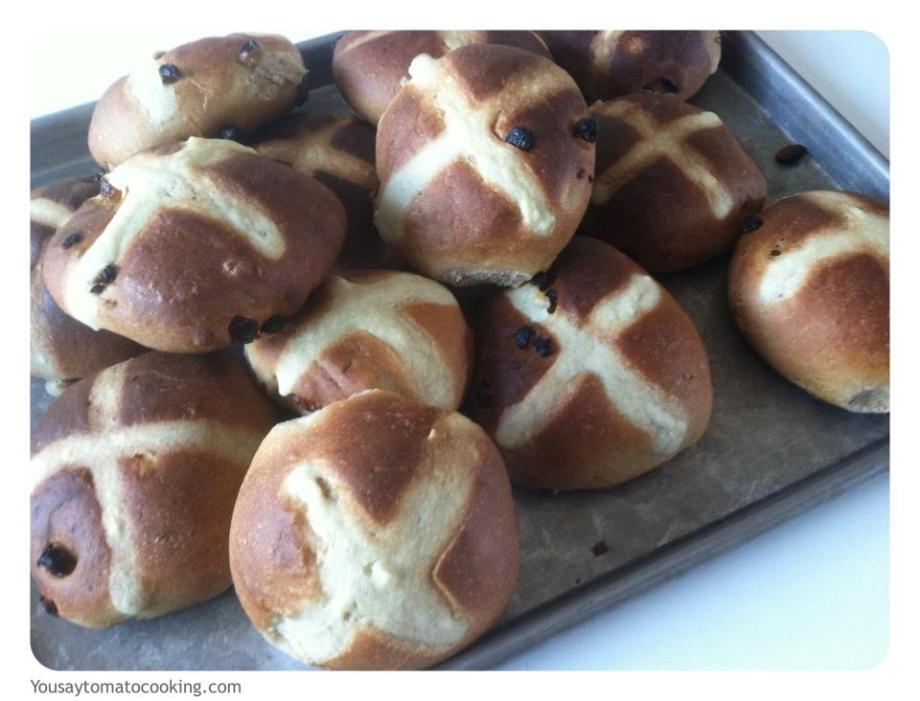 Easter Hot Cross Buns – finally a recipe for these thatworks!