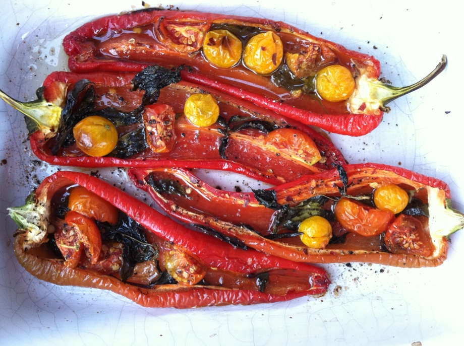 Piedmontese peppers with dinner