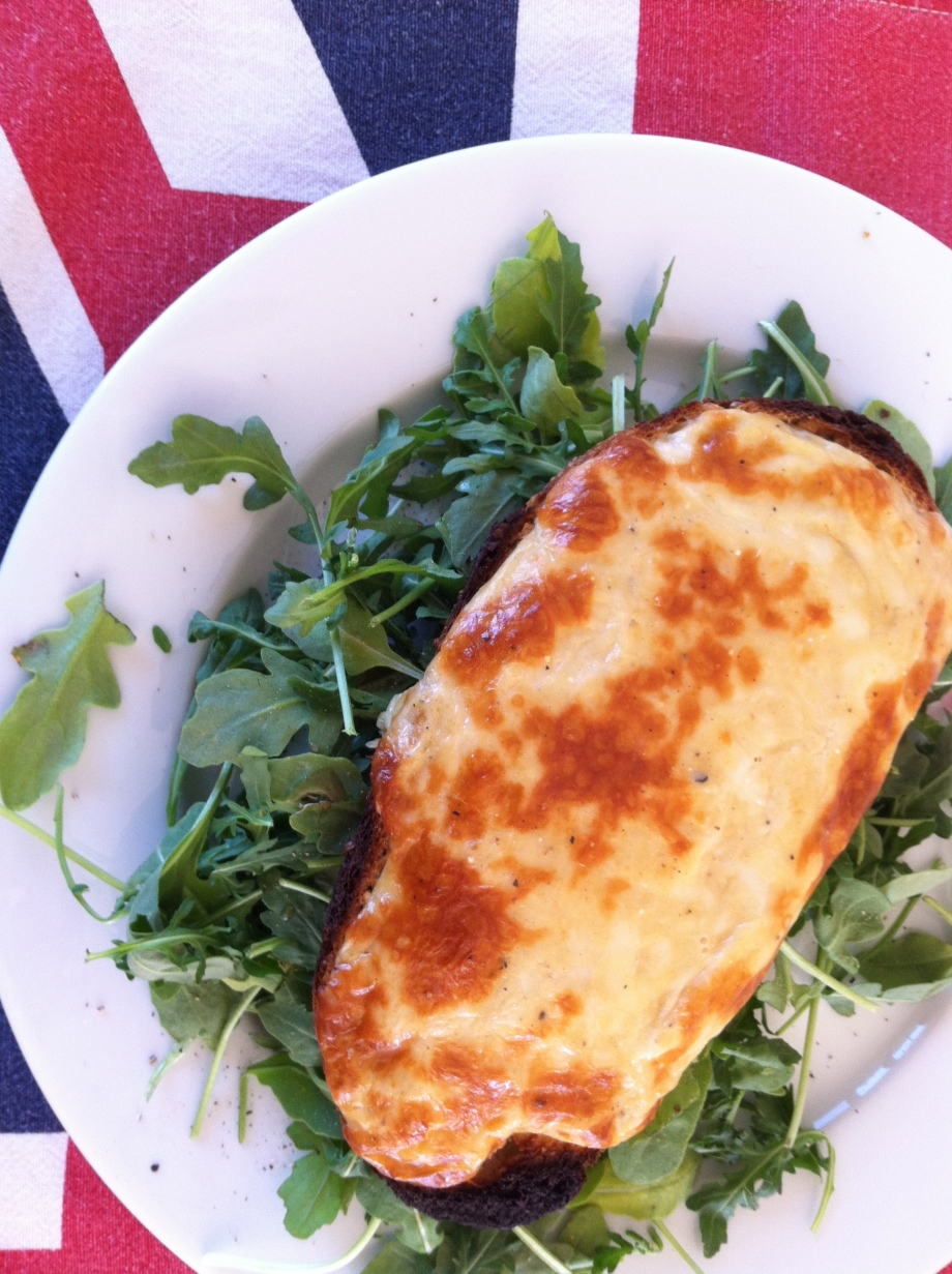 Welsh Rarebit – no rabbits were harmed in the making of this