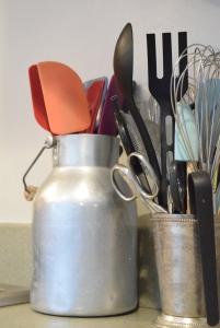 essential kitchen equipment and storage