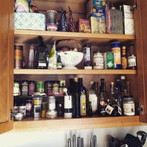 organised storecupboard